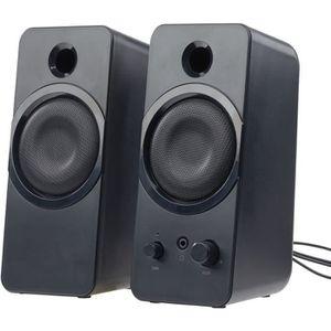 ENCEINTES ORDINATEUR Haut-parleurs USB stéréo actifs 10 W ''MSX-150''