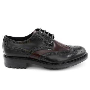 ANTICA CUOIERIA chaussures pour hommes en cuir Couleur Noir Fond en caoutchouc Lumière, NUM. 42