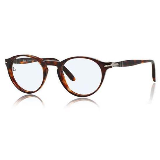 8adc7e9af16 Lunette de vue Persol Suprema PO3092V 9015 PO3092V 9015 - Achat   Vente  lunettes de vue Lunette de vue Persol Suprema Homme Adulte Marron - Cdiscoun