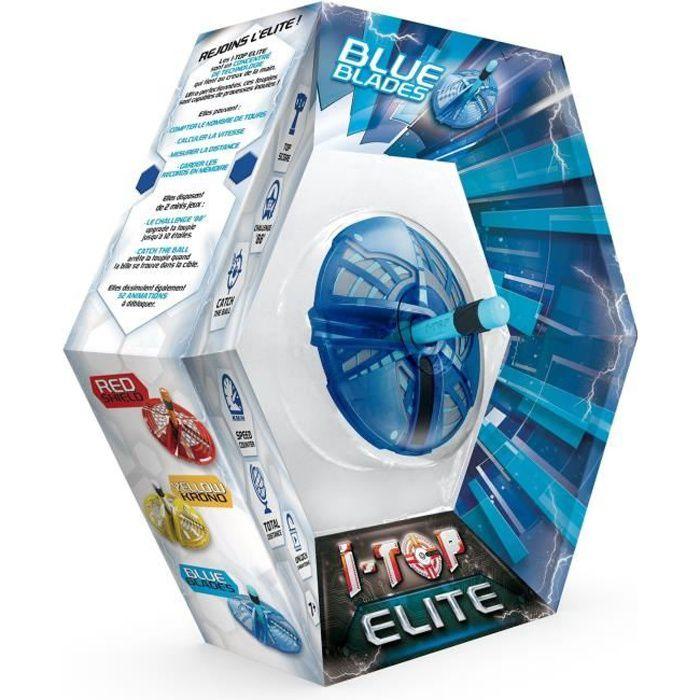 Goliath - ITOP Elite Trinity Blade bleu - Toupie compte-tours