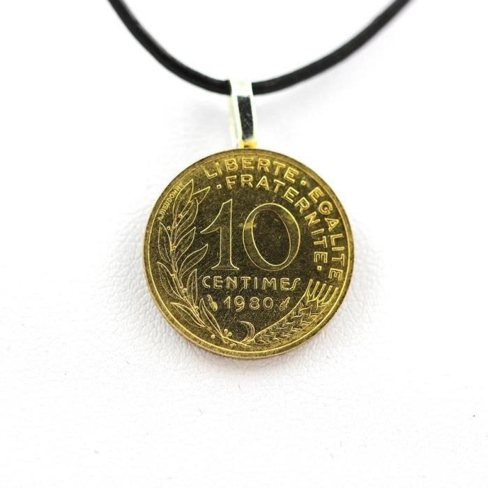 piece de monnaie pendentif
