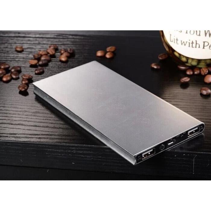 Batterie téléphone Super fin 10000mAh Power Bank Externe Portable Bat