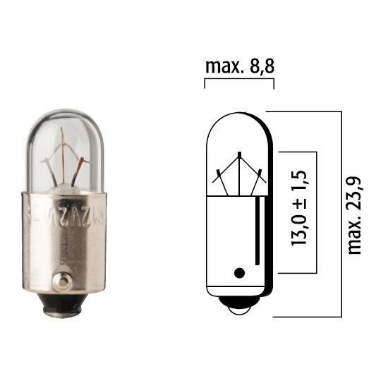 ampoule flosser 12v 3w ba9s t4 auto voiture lampe temoin feu interieur plafond achat vente. Black Bedroom Furniture Sets. Home Design Ideas