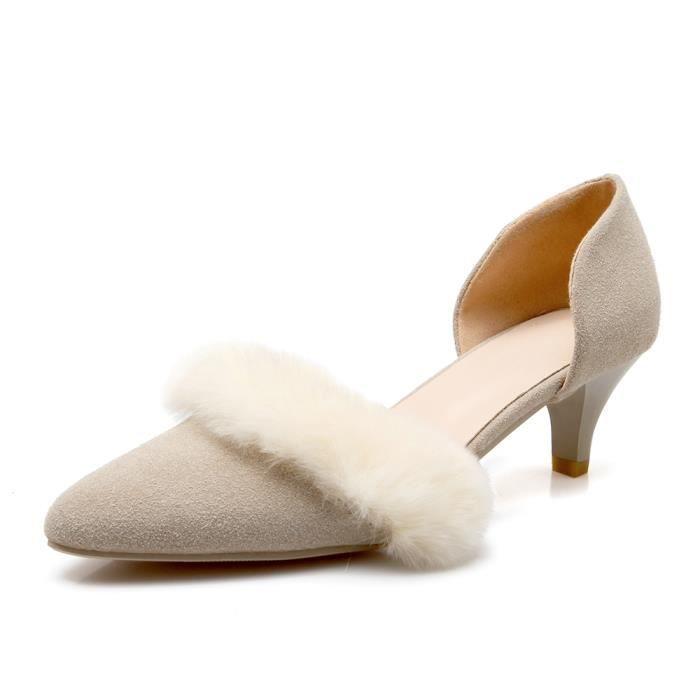 Nouveau Sandales à talons Femme Chaussure-Point... HXZ0v09