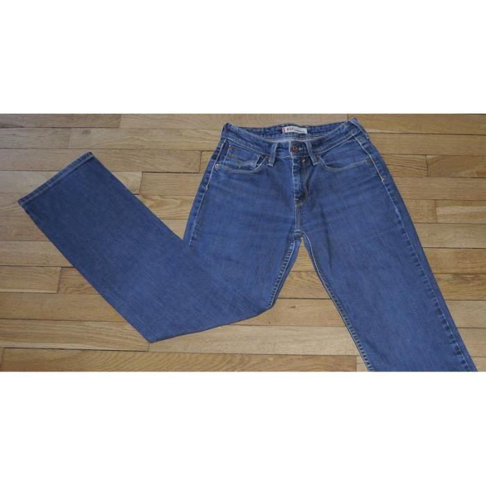 49fb32663c LEVIS 627 Jeans pour Femme W 27 - L 32 Taille Fr 36 straight fit (Réf #P220)