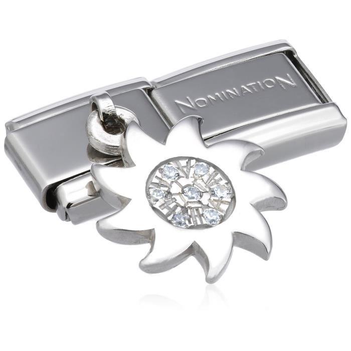 Nomination 031710-25 - Maillon Pour Bracelet Composable Femme - Acier Inoxydable BQ6H6