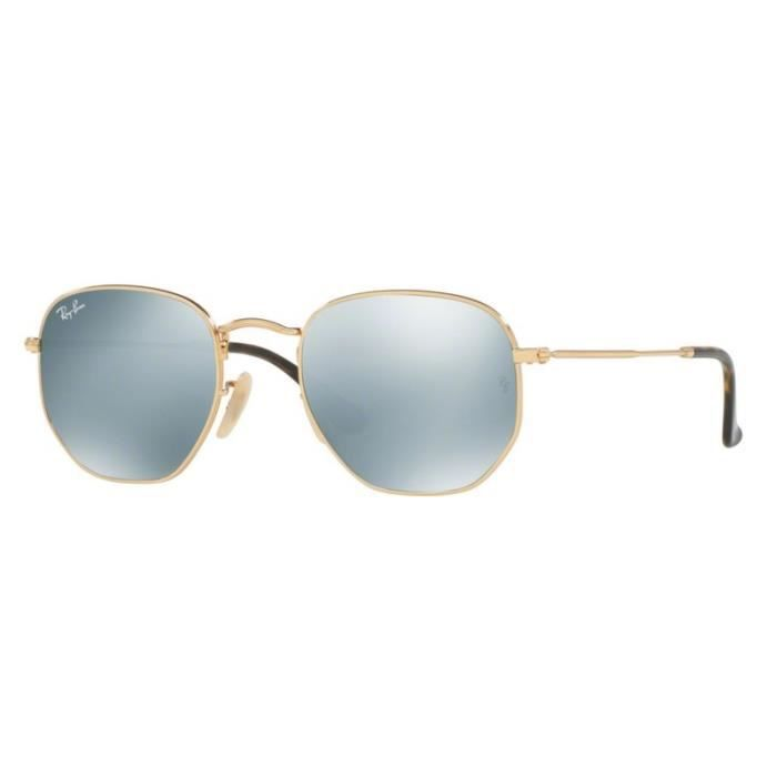 2611524e1a25e Lunettes de soleil Ray-Ban RB3548N 001/30 Gold 54-21 Or - Achat ...