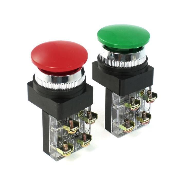 Pack de 2-BRK 670MBX dicon Secteur Filaire Alarme avec 9 V Batterie secours