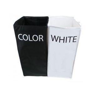 panier a linge sale compartiments achat vente pas cher. Black Bedroom Furniture Sets. Home Design Ideas