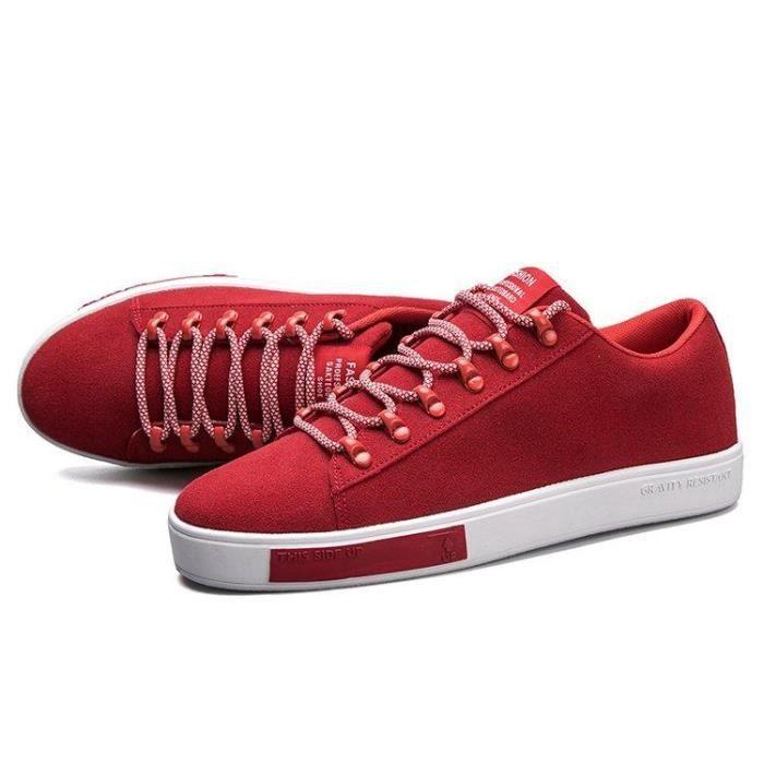 Chaussures DéTente Un Look éLéGant. Textile Mode Meilleure Absorption Des Chocs Homme rouge 42 R31144794_m1777 3WjoQd