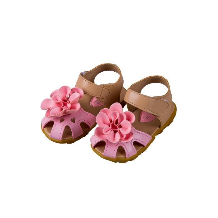 plage 5 cuir de d'ete filles US8 decontracte les et CN24 Sandales les en Rose pour floral enfants Sandales Chaussures x8qwfTpq
