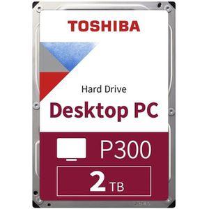 TOSHIBA Disque dur interne P300 - 2 To - 64 Mo - 3,5'' - 7200 Tours/min