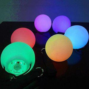 ETAI LED multicolore POI Glow Jeté Boules eclairent de