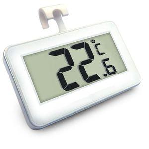 THERMOMÈTRE DE CUISINE Thermomètre Réfrigérateur Congélateur Etanche LCD