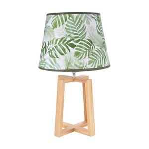 LAMPE A POSER Lampe pied bois jardin d'hiver