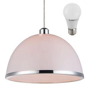 LUSTRE ET SUSPENSION Suspension DEL 7 W lustre blanc opale lampe LED sa