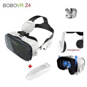 CASQUE RÉALITÉ VIRTUELLE z4 virtuelle réalité mobile 3d vidéo  lunettes VR