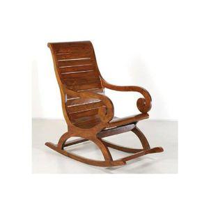 rocking chair exterieur achat vente rocking chair exterieur pas cher cdiscount. Black Bedroom Furniture Sets. Home Design Ideas
