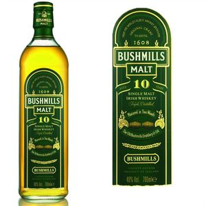 WHISKY BOURBON SCOTCH Bushmills Malt 10 ans - Single Malt Irish Whiskey