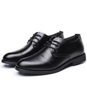 Leather Classic Oxfords Casual Shoes Lace-up Flats Loafers FA0MM Taille-37 1-2 UCyoL4F2