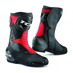 CHAUSSURE - BOTTE Bottes moto - TCX SP-MASTER Noir/Rouge - 45