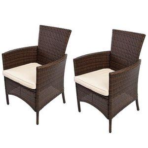 Chaise de jardin osier - Achat / Vente Chaise de jardin osier pas ...