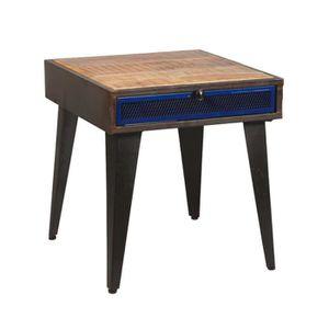table chevet bois 2 tiroirs achat vente table chevet bois 2 tiroirs pas cher cdiscount. Black Bedroom Furniture Sets. Home Design Ideas