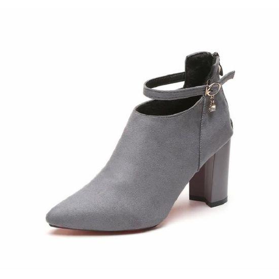 Chaussures De Nouvellesà Pompes Mariage xz234gris35 Hauts Femmes Talons Escarpins Femme Kfxg Ygfy76Ibv