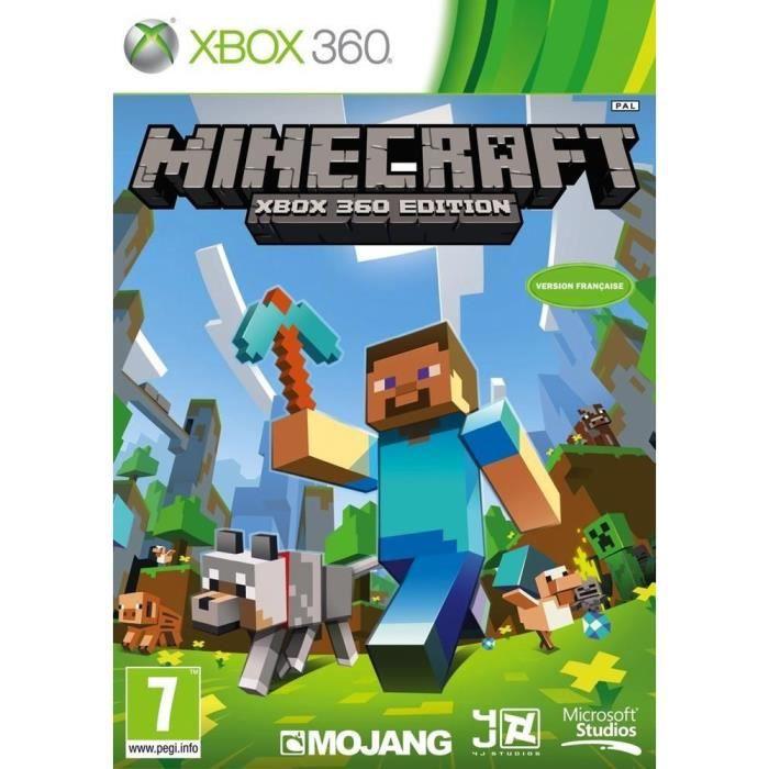 JEU XBOX 360 Minecraft Jeu Xbox 360