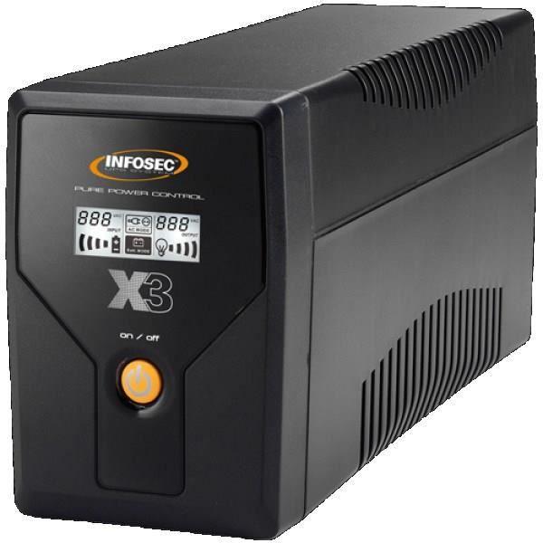 INFOSEC UPS SYSTEM Onduleur X3 EX 1000 - LCD - USB