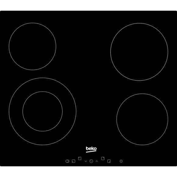 beko plaques vitroceramiques hic 64402 t table de cuisson. Black Bedroom Furniture Sets. Home Design Ideas