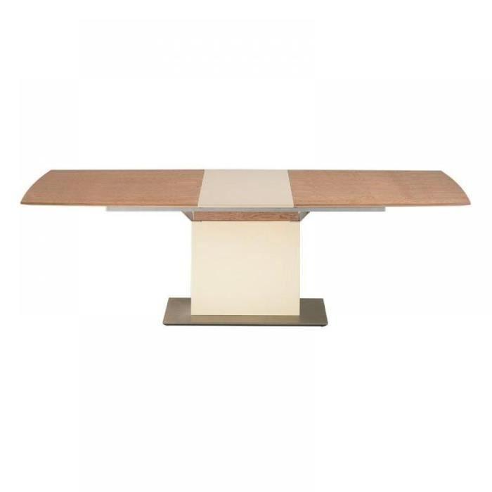 TABLE À MANGER SEULE SOLAR table repas modulable 12 couverts avec ex…