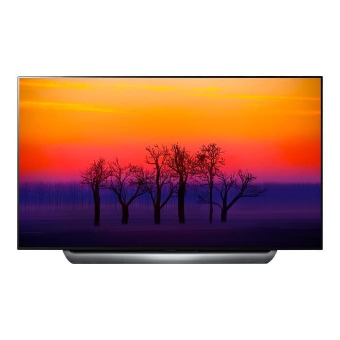 """Téléviseur LED LG OLED77C8LLA Classe 77"""" C8 Series TV OLED Smart"""