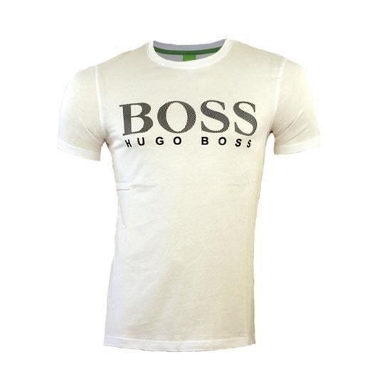 4caa0a980fb Tee shirt HUGO BOSS homme 50236203 blanc Blanc - Achat / Vente t ...