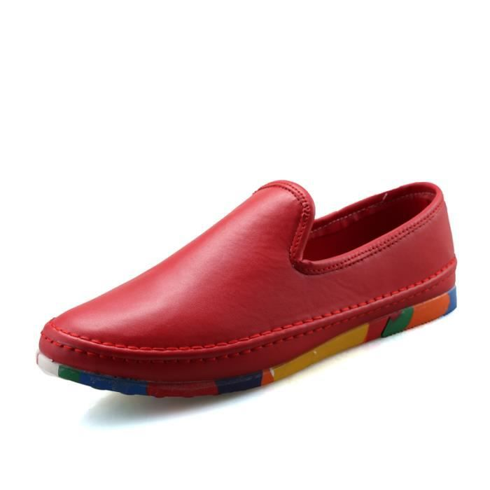 Hommes Oxford Chaussures Chaussures Casual Chaussures en cuir véritable Hot Sale Flats Chaussures Qi5DOB