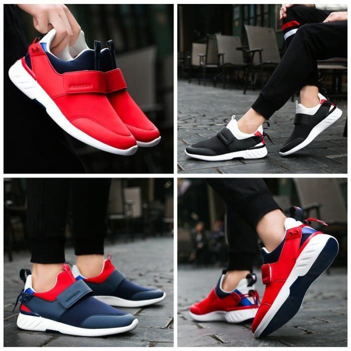 chaussures multisport Homme de sport étudiantrésistance à l'usure rouge taille7