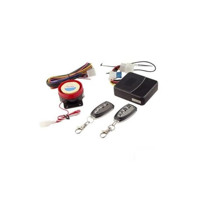 ALARME VEHICULE ALARME UNIVERSELLE TUN'R 2 TELECOMMANDES