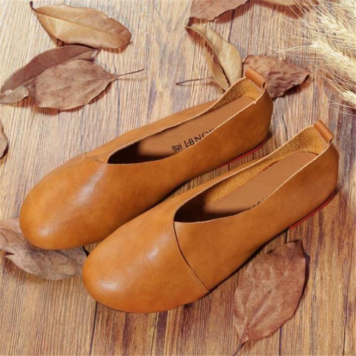 Moccasin femmes en cuir Marque De Luxe Mode Femmes Moccasins Grande Taille Nouvelle Mode Loafer 2017 ete 35