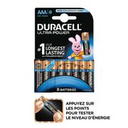 PILES DURACELL Pile Lr03x8 Ultra Power Hal