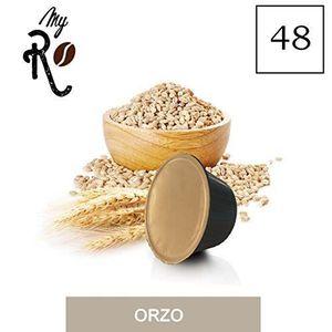 CAFÉ 48 Capsules  de Soluble Orge compatibles avec mach