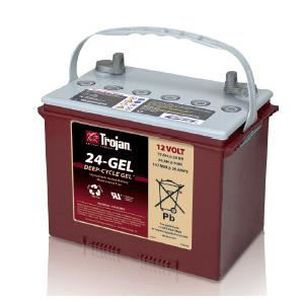 BATTERIE - CHARGEUR Batterie plomb traction Trojan 24-GEL 12V 77Ah C20