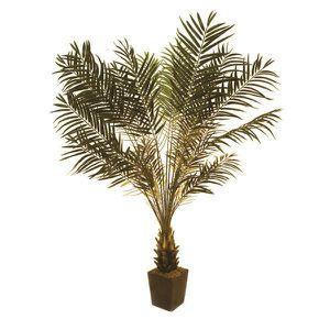 fleur artificielle lot 2 x palmier cycas 790 feuilles 220cm rsis - Arbuste Artificiel Exterieur Pas Cher