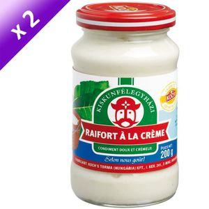 BISCUITS SECS TORMA Raifort à la Crème - 190 g x2