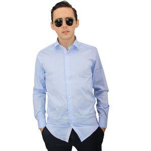 huge discount 95540 9292c CHEMISE - CHEMISETTE Chemise - Chemisette - chemise homme Bleu-ciel et