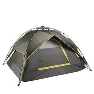 TENTE DE CAMPING Tente pliante étanche extérieure portative pour 3