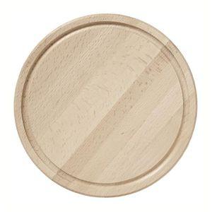 PLANCHE A DÉCOUPER Planche ronde en bois hêtre huilé - 30 cm