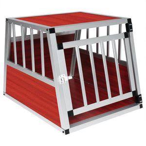Cage de transport pour chien en aluminium,Box de transport pour  animal,69x54x51cm environ 8e6246c67c23