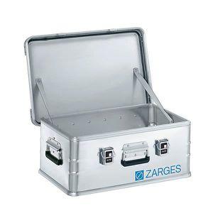 CAISSE FOND PLAT ZARGES Caisse de transport en aluminium - modèle r