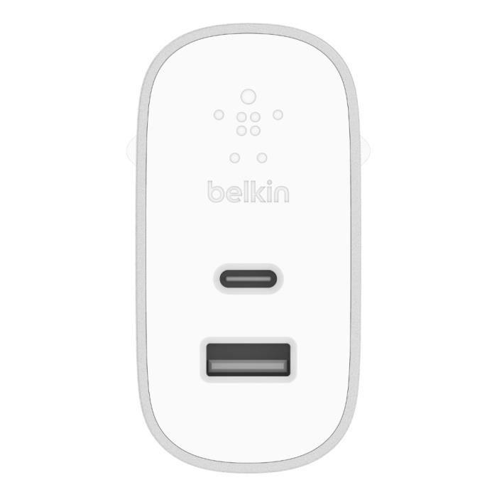BELKIN CHG secteur USB-C USB-A Silver