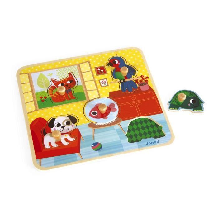 JANOD Puzzle Les Copains De La Maison